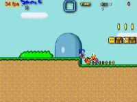 Sonic in Marios Welt