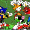 Sonic ankleiden
