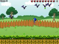 Sonic gegen die Fledermaeuse